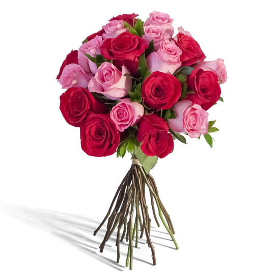Rose Bouquet - Red/Pink | Odealarose.com - Flower Delivery