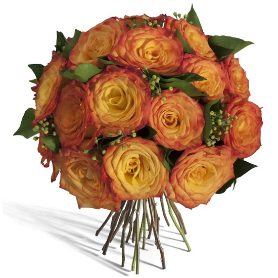Gold Round Rose Bouquet