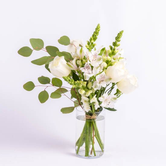 Market Bouquet in White