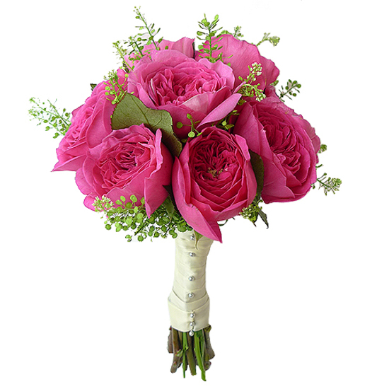 pink rose wedding bouquet bridal bouquet delivery send wedding flowers ode 224 la 6592